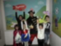 Animazione per bambini presso centri commeciale