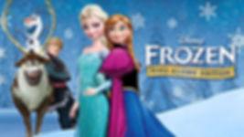 Allestimento per compleanni ispirato al cartone animato Frozen, Il regno di ghiaccio