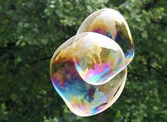 Animazione con bolle di sapone