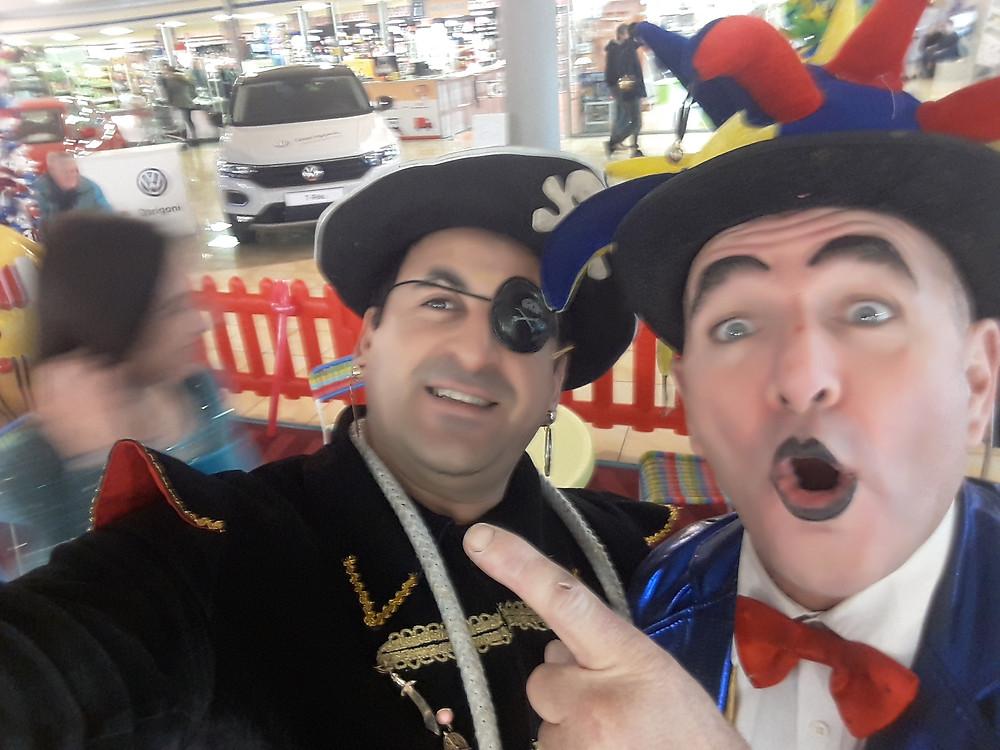 Spettacolo e animazione con Clown