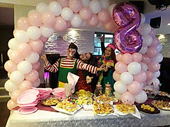 Allestimento e addobbi per feste bambini