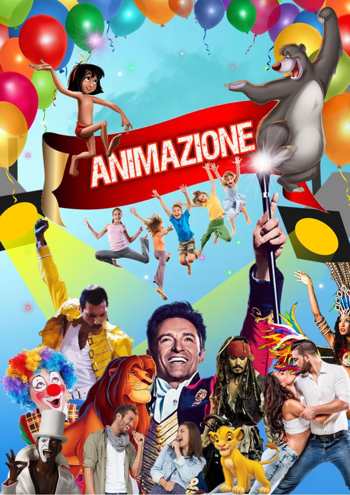 Servizio di animazione bambini per strutture ricettive in Italia.