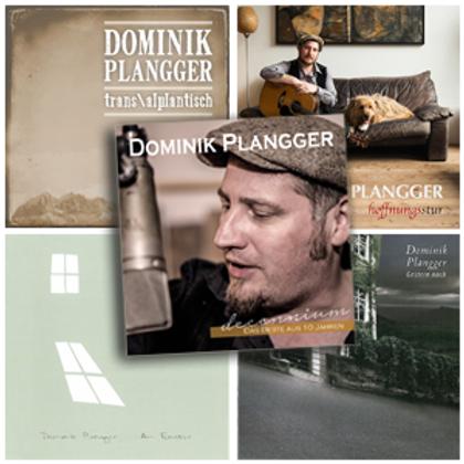 5 CDs von Dominik Plangger zum Sonderpreis