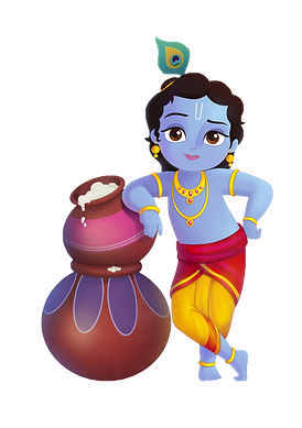 Lord Krishna : Not any Avatara, but The Source of Vishnu and