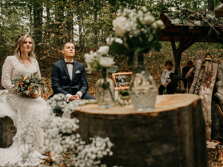 Laura & Max - Ritual Forest Wedding - Gefühlvolle Waldhochzeit im Harz mit alten Hochzeitsritualen
