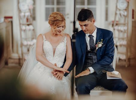 Johanna & Christoph - eine romantische Vintage Real Wedding in Pastelltönen