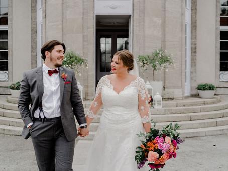 Curvy Bride - zwei moderne Brautlooks für kurvige Bräute, die das besondere Brautkleid suchen