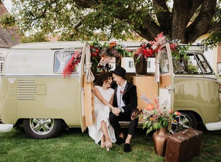 Colourful Wedding Love - eine frische farbenfrohe Sommerhochzeit mit wunderschönem Farbkonzept