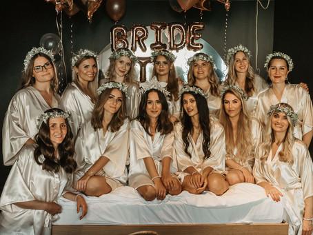 Bridal Party - ein Junggesellinnenabschied in schicker Hotelsuite - JGA von Braut Sabrina