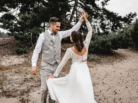 Jenny & Matthias - Hochzeitsinspiration in rustikaler Scheune für Eure Vintage Wedding - PART 2