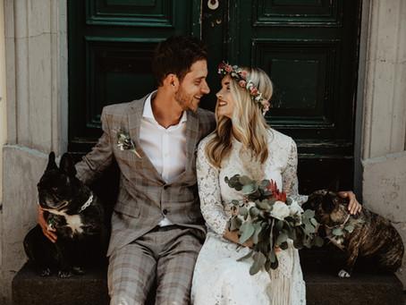 """Wenn das süßeste Blumenmädchen """"Ja"""" sagt - die standesamtliche Trauung von Jacklyn von Blumen Hansel"""
