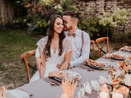 Mediterrane Spätsommerhochzeit - Toskana-Hochzeit oder Mallorca-Hochzeit in Deutschland
