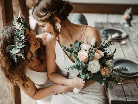 Annika & Jessie - eine bezaubernde Liebesgeschichte mit Ausblick auf ihre Hochzeitsplanung für 2021