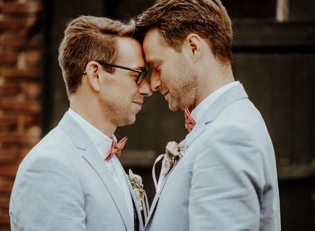 Marcel & Markus - eine Traumhochzeit mit sehr persönlichem Einblick in die emotionale Traurede