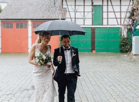 Lisa & Nino - Eine unvergessliche Trauung mit bester Stimmung trotz Regen am Hochzeitstag