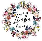 Logo Blumenkranz Liebe Hochzeitsblog