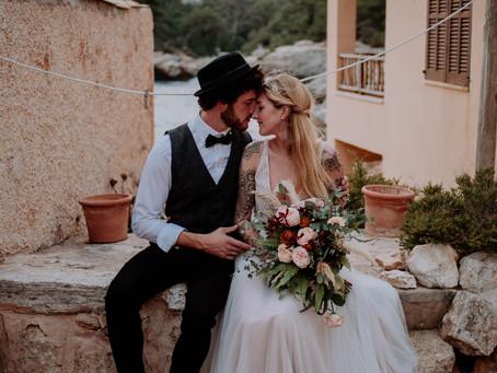 """""""WILD and FREE"""" - Ideen zum Hochzeitstrend: Boho Hochzeit auf Mallorca"""