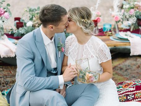 """""""Romantic Boho Wedding"""" - Hochzeitskonzept mit vielen Hochzeitstrends für 2020"""
