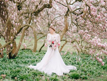 Oh Magnolia! Ein Bridal Editorial mit Inspirationen für eine Hochzeit im Frühling