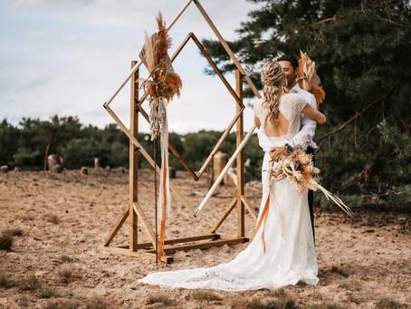 Vintage oder Boho Hochzeit? Warum nicht beides? Zwei moderne Hochzeitstrends werden neu erfunden!
