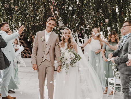 Die große Hochzeit von Jacklyn & Patrick - mit vielen Ratschlägen zum Thema Hochzeit trotz Corona