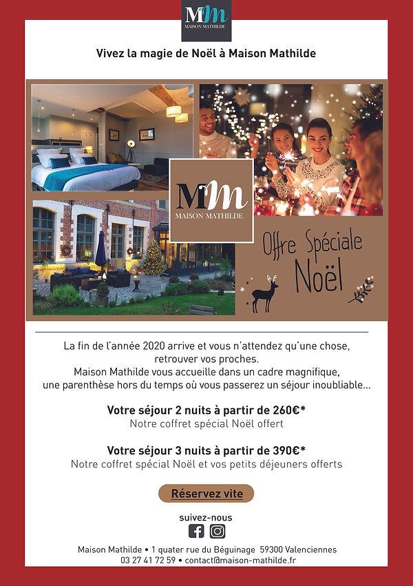 Offre spéciale Noël Valenciennes Hôtel