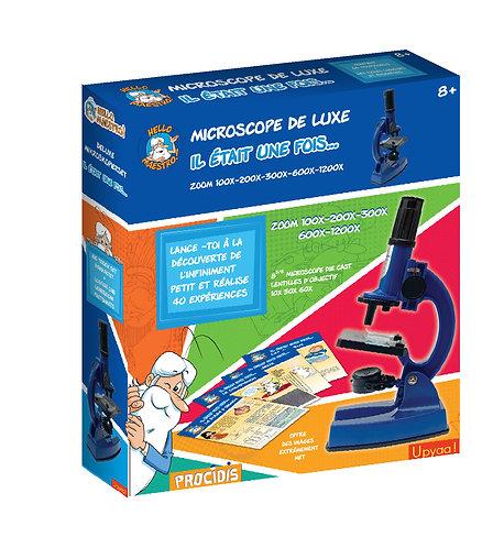 Coffret Microscope 50 expériences Hello Maestro !