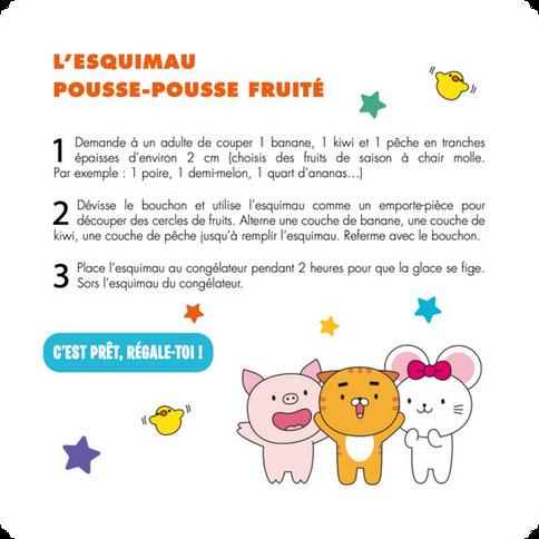L'Esquimau Pousse-Pousse Fruité