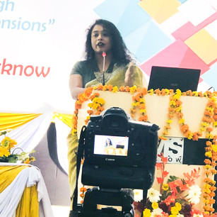 Paper presentation at a national conference