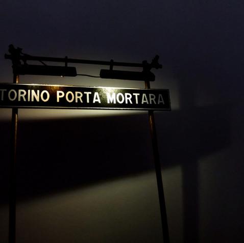 CARTELLO DI STAZIONE PER PIAZZALI