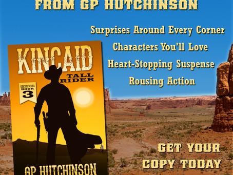 """Just Released - """"Kincaid: Tall Rider"""" (Kincaid Series #3)"""