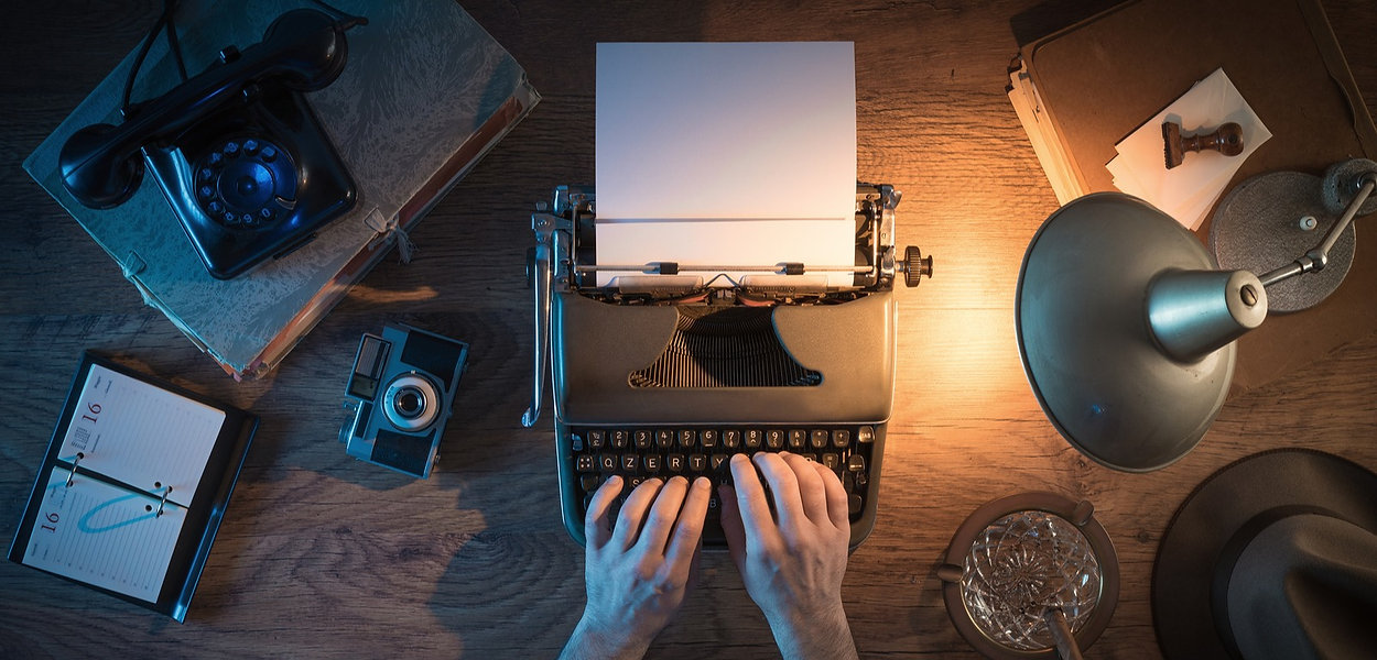 bigstock-Vintage-Journalist-s-Desk-93123