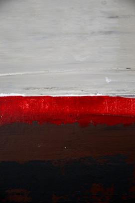 Frontière (Red Line) Detail I Ekaterina Aristova