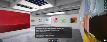 3D virtual gallery