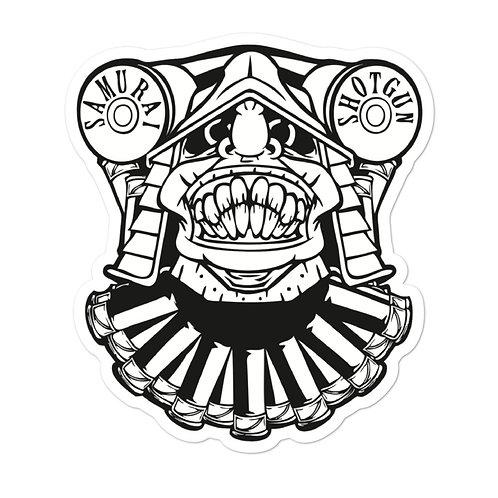 Samurai Shotgun Logo Sticker