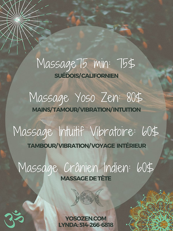 Massage Yoso Zen_ 80$ Massage Crânien In