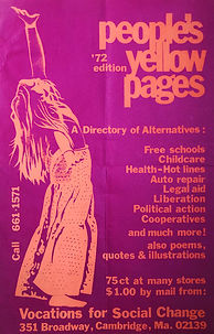 Peoples Yellow Pages 1972 promo poster i
