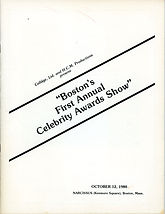 Celebrity Awards 1980 first annual Oct 1