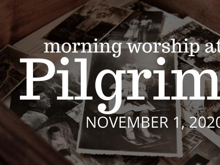 All Saints Sunday, November 1