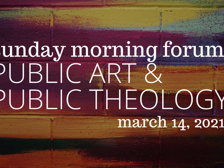 Public Art and Public Theology