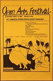 Rock Against Racism Open Arts Festival J