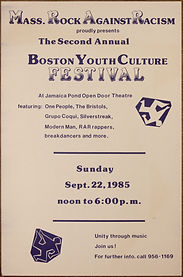 Rock Against Racism Second Boston Youth