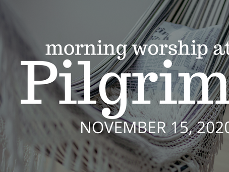 The Gift of Sabbath - Morning Worship on November 15