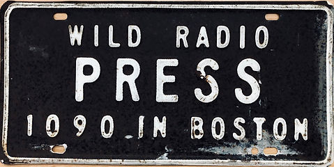 WILD 1090 Press license plate 1960s BC.j