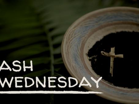 Ash Wednesday February 17
