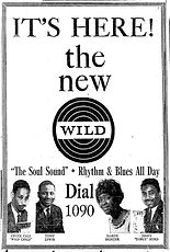WILD Ad April 3 1967 Boston Globe closeu