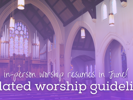 Worshipping at Pilgrim - August Update