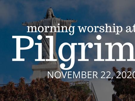 Generous Commitment Sunday - Online Worship on November 22