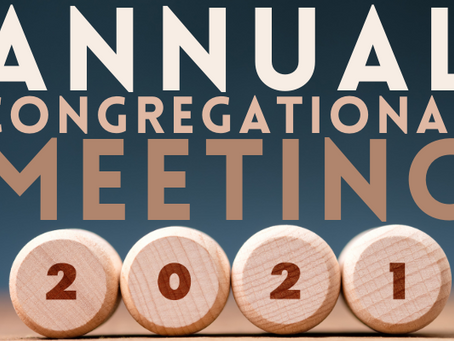 Annual Financial Meeting February 28, 2021