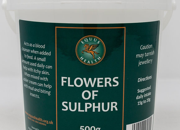 Equus Health Flowers of Sulphur